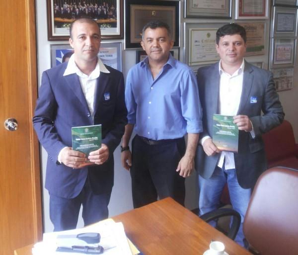 Antonio Brito STIMA, Dep. Cléber Verde e Ver. Jarlis Adelino